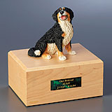 Dog Memorial with Figurine
