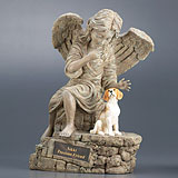 Original Edition Dog Urns with Figurine
