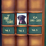 Three Book Labels for Library Edition Pet Urn